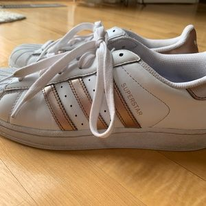 adidas Shoes - Adidas rose gold superstars